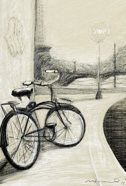 Camilo Nascimento Bike in New Brunswick
