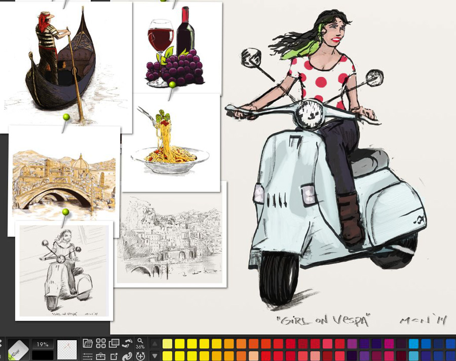 screenshot-krt-happy-vespa-woman-progress-by-camilo-nascimento-3-27-14